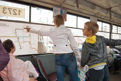 Вторая часть процесса создания схемы челябинских трамваев