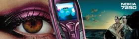 Nokia 7250: реклама с официального сайта