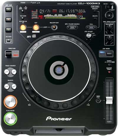 Pioneer CDJ 1000 MK 3