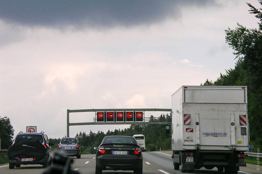 Есть умные автобаны, которые динамически распределяют по себе трафик
