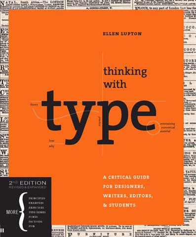 Книга Эллен Луптон «Думая типографикой»
