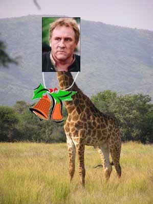 Жираф Депардье