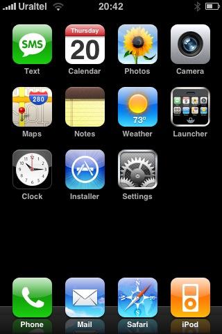 Инсталлер с иконкой App Store