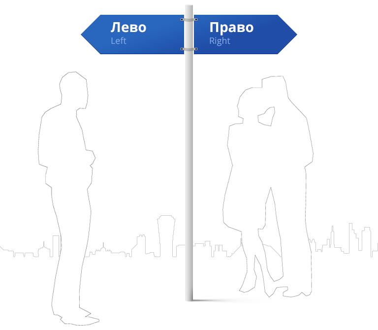 Лево- фото