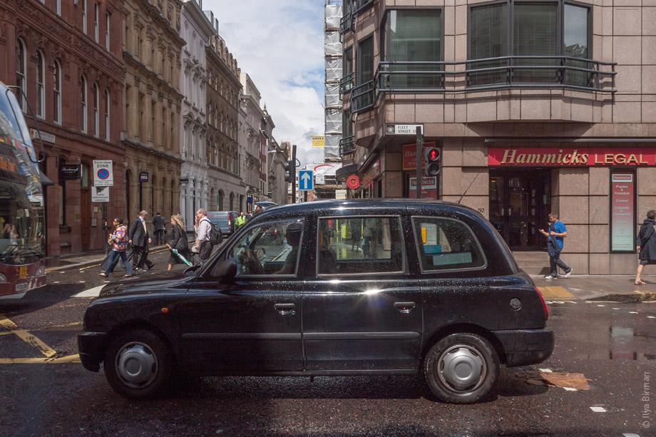 Уличные таблички Лондона. Fleet street