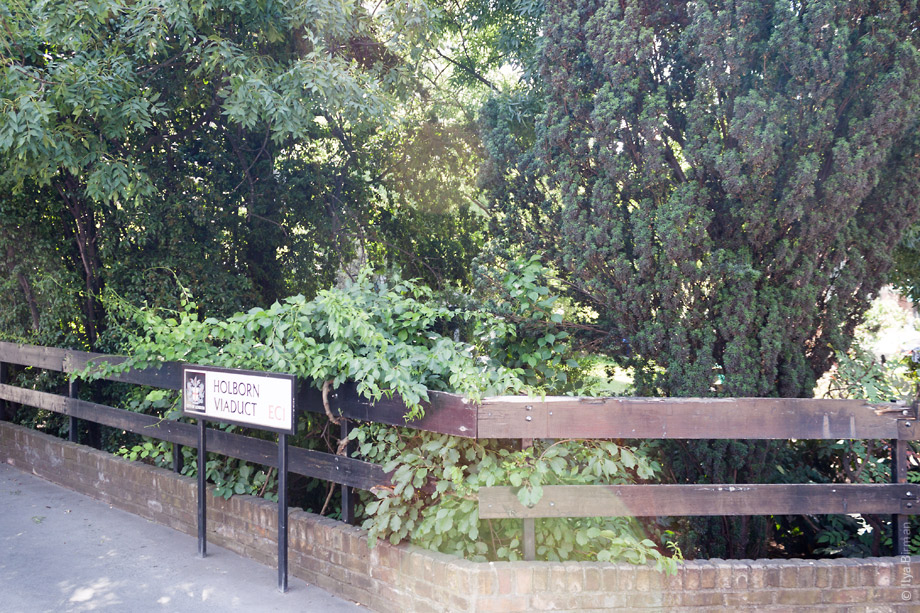 Уличные таблички Лондона.Holborn Viaduct