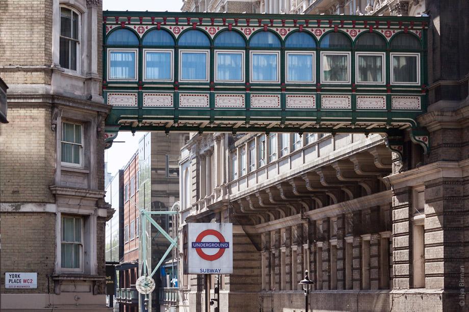 Уличные таблички Лондона. York Place