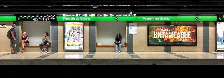 Много лет в московском метро