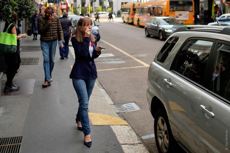 Европейский стиль разговора по телефону