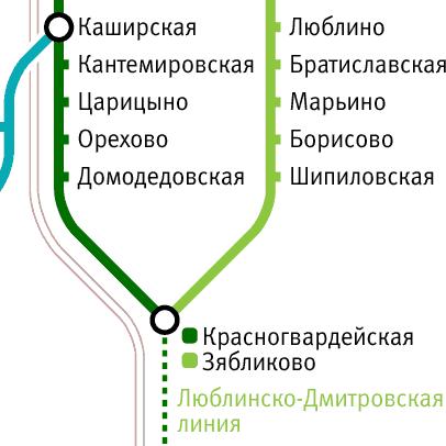 Борисово, Шипиловская, Зябликово