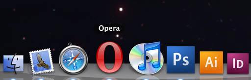 Клёвая иконка Оперы на Маке