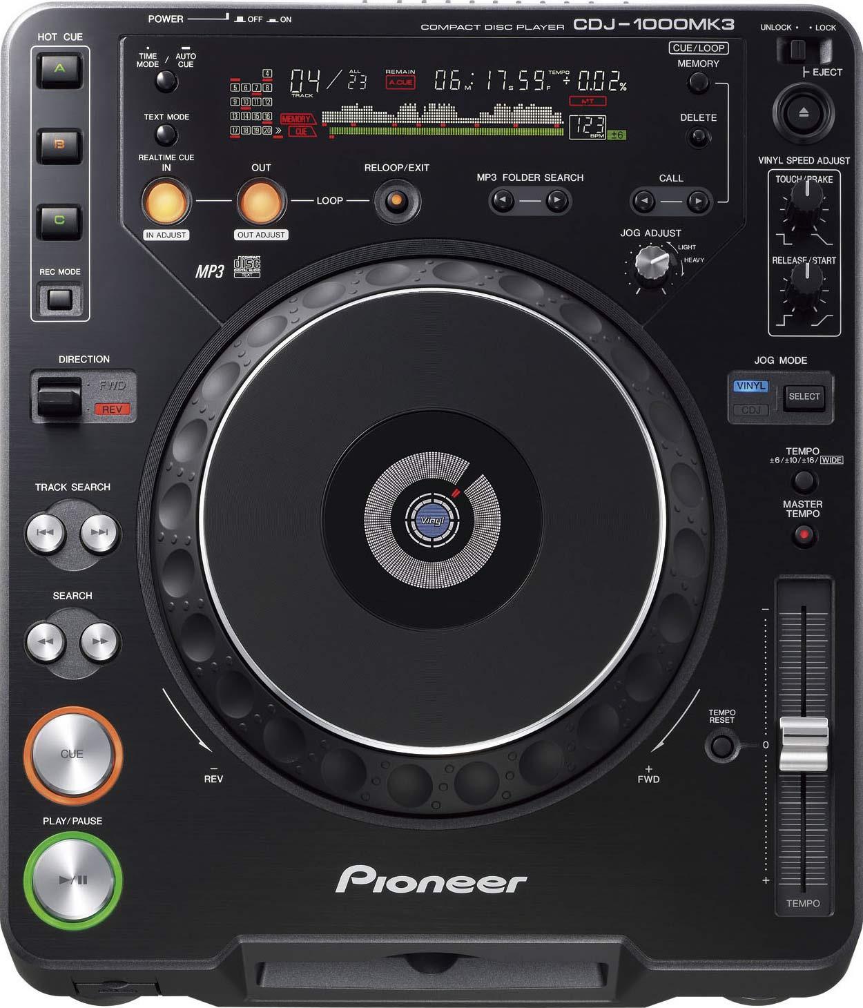 Пионер Сидиджей-1000