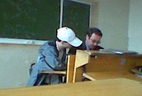 Чувак сдает экзамен по ТФКП