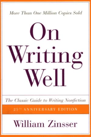 Книга Вильяма Зинссера «О хорошем письме»