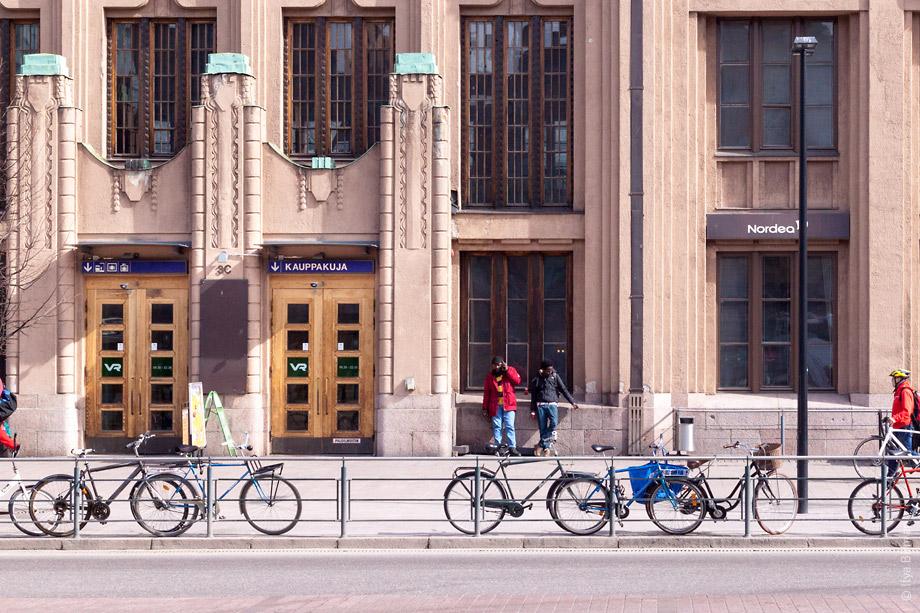 Торговый пассаж в Хельсинках