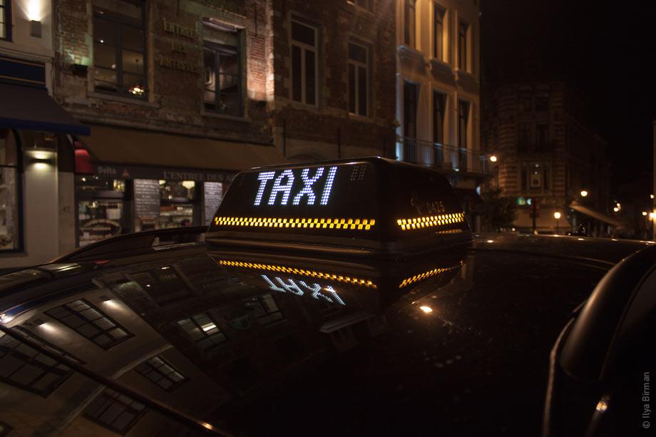 может ли такси заезжать под знаком